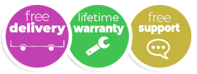 Free shipping - Lifetime Warranty - Free Support